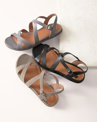 Gentle Souls Lark Crisscross Sandals