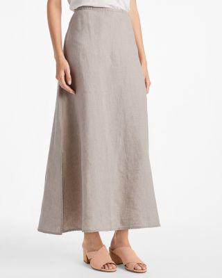EILEEN FISHER Organic-Linen Maxi Skirt