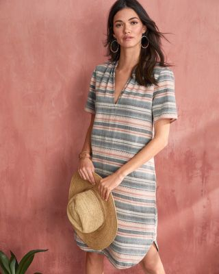 Split-Placket Dress by The Odells