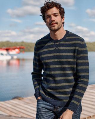 Men's Washable-Cashmere Sweatshirt