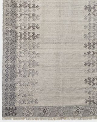 SAVE EILEEN FISHER Handwoven Heathered Wool Rug