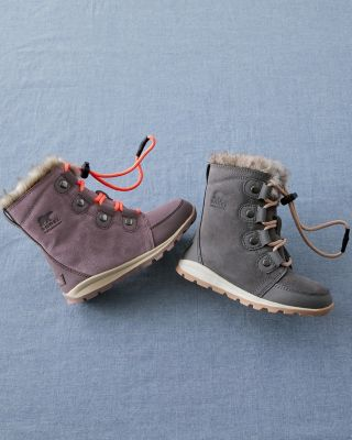 Kids' SOREL Whitney Suede Boots