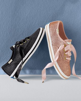 Kate Spade Girls' Glitter Shoes by Keds