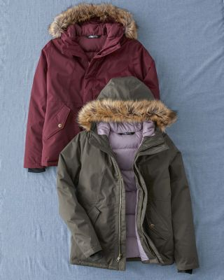 Girls' The North Face Greenland Down Parka