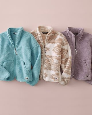Girls' The North Face® Campshire Fleece Cardigan