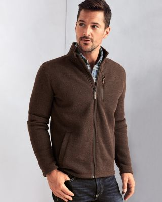 Men's Smartwool® Hudson Trail Full-Zip Sweater