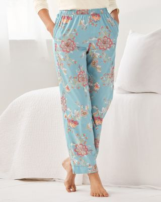 Sateen Pima Cotton Pajama Pants