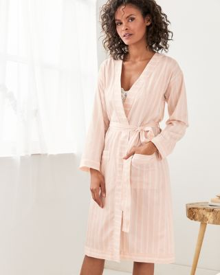 Women's Sateen Pima Cotton Robe