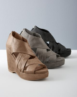 EILEEN FISHER Bella Wedge Shoes