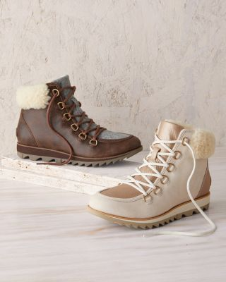 SOREL Harlow Lace-Up Cozy Boots