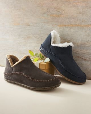 Men's SOREL Manawan II Suede Slippers