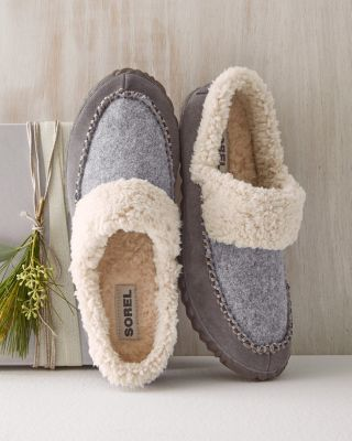 SOREL Out N About Suede Slipper Slides for Women