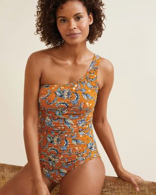 Signature Asymmetrical One-Piece Swimsuit UPF 50+