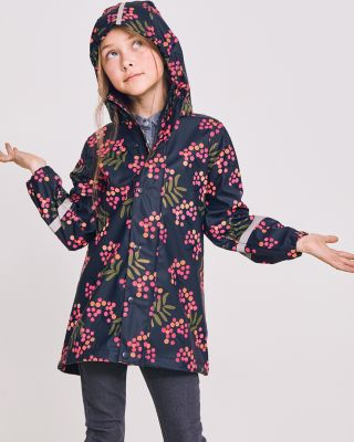 Girls' Vatten Raincoat by Reima