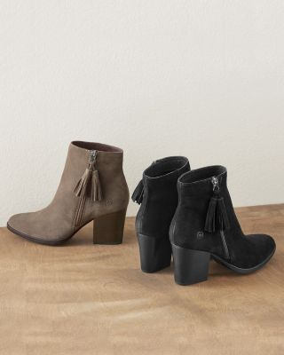 Born Ervine Suede Tasseled Booties