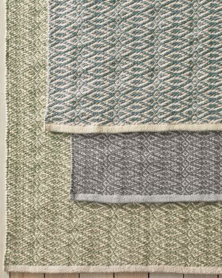 Fair Isle Cotton Rug by Dash & Albert