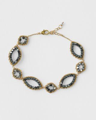 Hematite Bracelet by Michelle Pressler