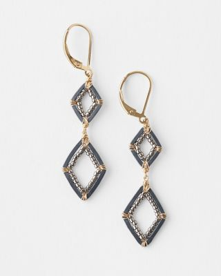 Dana Kellin Mixed-Metal Geometric Earrings