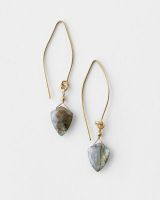 Robindira Unsworth Labradorite Drop Earrings