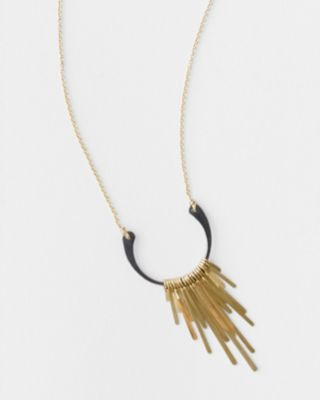 Dana Kellin Mixed-Metal Fringe Necklace