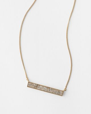 Shana Gulati Simple Bar Necklace