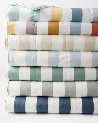 Reversible Lightweight Comforter and Throw Blanket