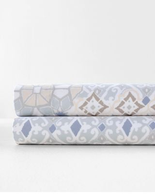 Porto Wrinkle-Resistant Cotton Sateen Sheets