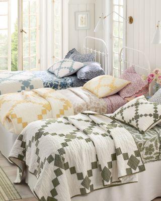 Agnes Pieced Linen Quilt