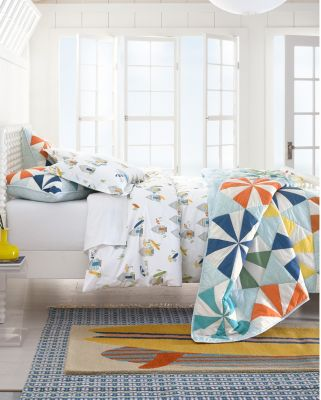Hable Beach-Ball Quilt and Sham