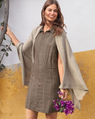Lightweight Organic-Linen Wrap