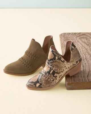 Tamara Braided Suede Boots