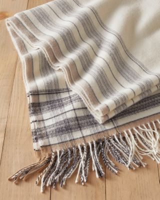 USAlpaca Plaid Oversized Scarf