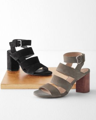 Seychelles Antiques Strappy Suede Shoes