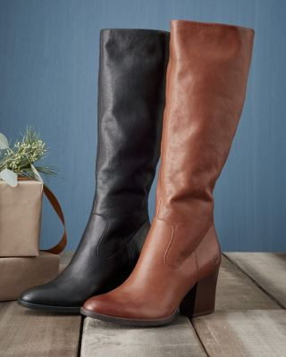 Born Elbe Tall Leather Boots
