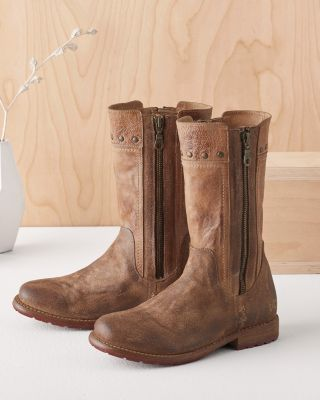 BEDSTU Vermont Leather Moto Boots