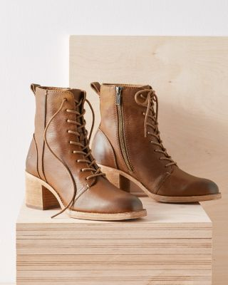 Frye Monroe Lace-Up Boots