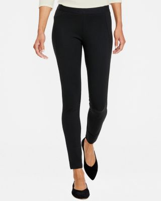 Lilla P Seamed Ponte Knit Pants