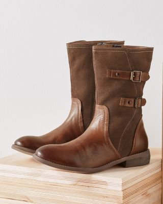 ROAN Suze Leather & Suede Boots