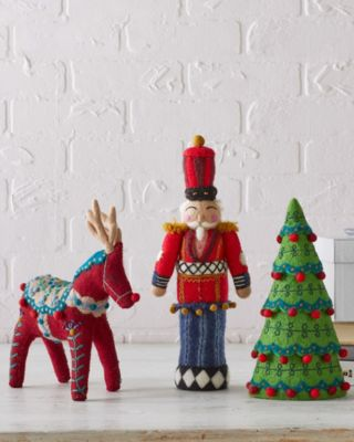 Felted-Wool Holiday Figure