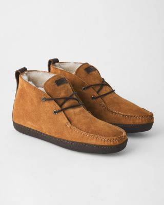 Men's Huggeur Chukka Shoes by Quoddy