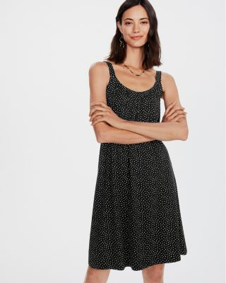 Gathered Knit Dress