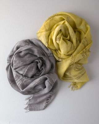 NEW EILEEN FISHER Printed TENCEL™ Scarf