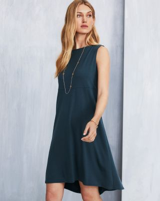 EILEEN FISHER Fine TENCEL-Jersey Sleeveless Tank Dress