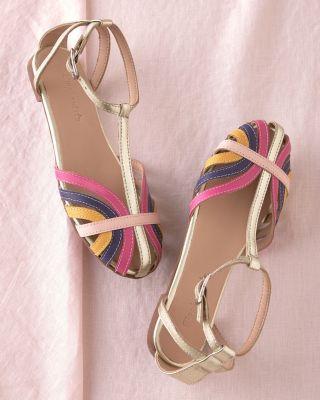 Girls' Elephantito Multicolor Sandals