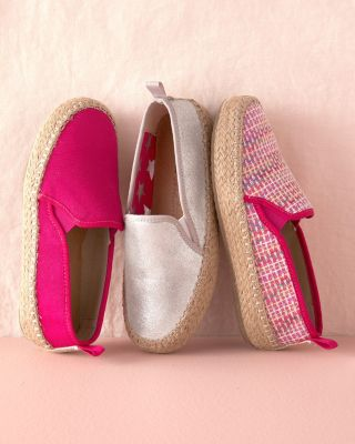 Girls' EMU Canvas Espadrille Sandals