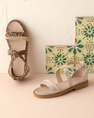 Girls' Elephantito Handmade Braided Sandals