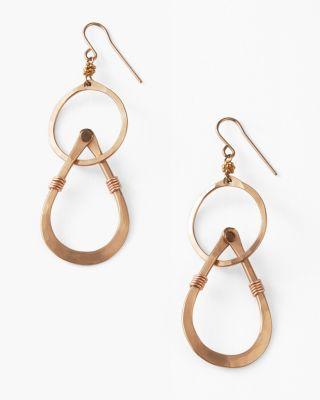 Robin Haley Handmade Mixed Circle Earrings