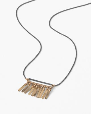 Dana Kellin Handmade Simple Fringe Necklace