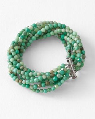 Ann Lightfoot Chrysoprase Bracelet