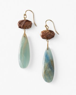Chan Luu Jasper Drop Earrings